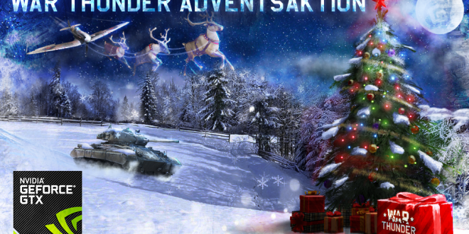 War Thunder Adventsaktion